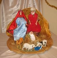 В Томске открылась выставка, посвященная празднику Рождества
