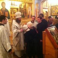 В храмах Томской епархии прошли новогодние молебны