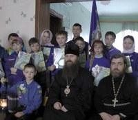В Колпашево проходят Рождественские сборы скаутских отрядов Томской митрополии