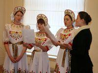 Дети-участники творческих коллективов Томска встретились на «Рождественском фестивале»