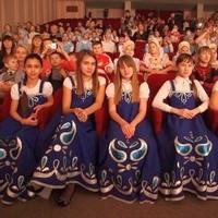 Дети-участники Рождественского концерта принесли Младенцу Христу свои таланты