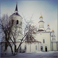 Богослужение архиерейским чином было совершено в Богородице-Алексиевском монастыре