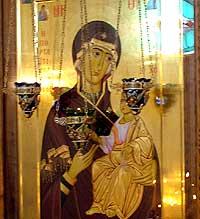 Праздник Иверской иконы Божией Матери в Томске