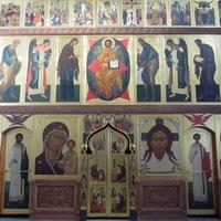 Близится к завершению работа над иконостасом в Богородице-Алексиевском монастыре