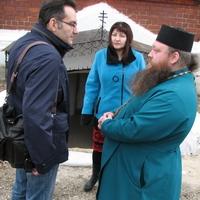 Потомки известного сибирского купеческого рода посетили храм святых апостолов Петра и Павла г. Томска