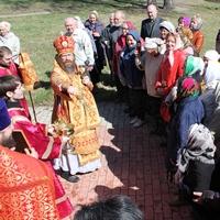 Архипастырский визит в Кожевниковский район