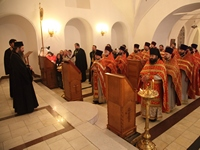 Духовенство Томской епархии поздравило секретаря Епархиального управления с юбилеем