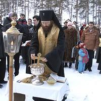 Архиепископ Ростислав совершил чин закладки храма в селе Кандинка Томского района.