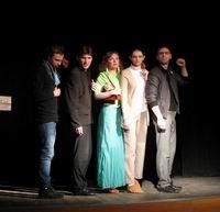 Православная молодежь показала спектакль на городской сцене