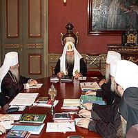 В Москве состоялось заседание Священного Синода