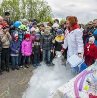 В День защиты детей состоялся автопробег «Томск-Губино» в поддержку многодетных семей и строительства храма в д. Губино