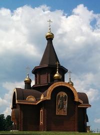 Митрополит Ростислав совершил Божественную литургию в храме Иоанна Предтечи в Заварзино