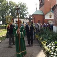 День обретения честных мощей прп. Сергия, игумена Радонежского отпраздновали в Томске