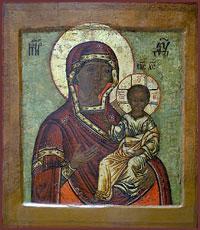 Чудотворная Смоленская икона Божией Матери «Одигитрия» из села Богородского и ее второе обретение на Томской земле