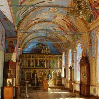 В престольный день Пантелеимоновского придела в Богоявленском кафедральном соборе совершено торжественное богослужение