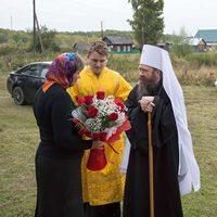 Архипастырский визит в Шегарский район