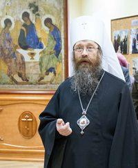 В Томской семинарии открылась выставка, посвященная преподобному Сергию Радонежскому