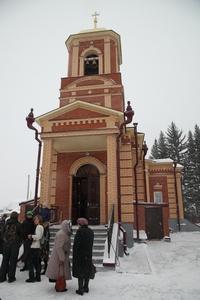 В Богашево освящён храм в честь томской святой - новомученицы Татианы