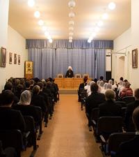 Актовый день в Томской духовной семинарии