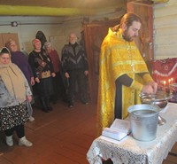 В селе Калтай совершен молебен по случаю престольного праздника