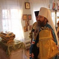 В Тегульдетский район была принесена томская святыня – десница святителя Макария (Невского)