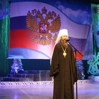 Митрополит Ростислав вручил томским спасателям и пожарным епархиальные награды