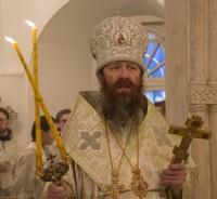 Митрополит Ростислав совершил первую Божественную литургию в наступившем году