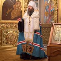 Проповедь митрополита Ростислава за Рождественским Всенощным бдением