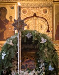 Богослужения в день навечерия Рождества Христова