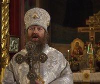 Во второй день праздника Рождества Христова митрополит Ростислав совершил Литургию в Петропавловском соборе