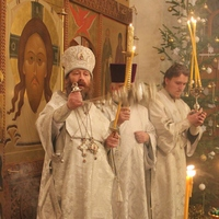 Митрополит Ростислав совершил богослужение в Богородице-Алексиевском монастыре