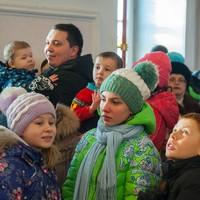 Прихожане из Губино посетили Воскресенскую церковь г. Томска