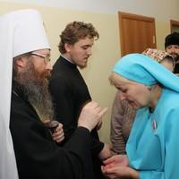 Митрополит Ростислав совершил освящение социального центра при храме преподобного Серафима Саровского г. Северска