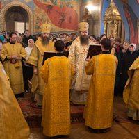 Соборное служение архиереев Томской митрополии