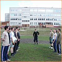 1 мая 2007 года начался первый ежегодный футбольный турнир среди студентов Томской Духовной семинарии