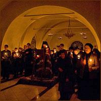 В первые четыря дня поста в томских храмах будет читаться Великий покаянный канон Андрея Критского