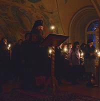 Митрополит Ростислав совершил богослужение в Воскресенской церкви г.Томска