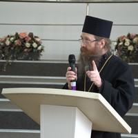 Митрополит Ростислав выступил с  открытой лекцией в библиотеке имени А.С. Пушкина