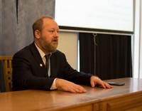 Почетный гость православной выставки-ярмарки прочитал лекцию для учащихся семинарии