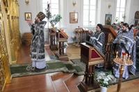 Последняя в этом году Литургия Преждеосвященных Даров
