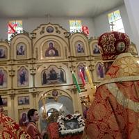 Митрополит Ростислав совершил пасхальную Литургию в Северске