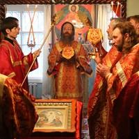 Митрополит Ростислав совершил Божественную литургию в Мельниково