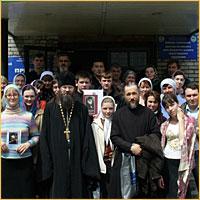 В  селе Тимирязево в день памяти святителя Луки (Войно-Ясенецкого) состоялся праздничный молебен