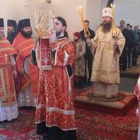 Епископ Силуан совершил Литургию в Богородице-Алексиевском монастыре