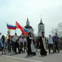 Празднование Дня Победы в благочинии Томского района