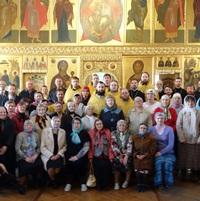 Священники из восьми епархий соборно совершили в Томске Литургию с сурдопереводом