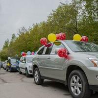 Участники автопробега поддержат многодетные семьи