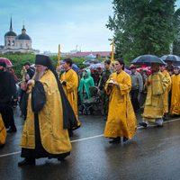Крестный ход собрал прихожан Томских храмов