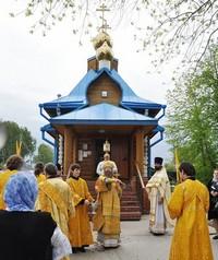 Митрополит Ростислав возглавил Литургию в храме свт. Николая  пос. Зональная Станция
