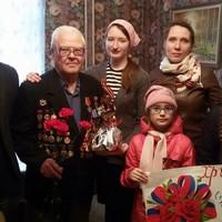 В благотворительной акции «Поздравь ветерана» приняли участие более ста человек